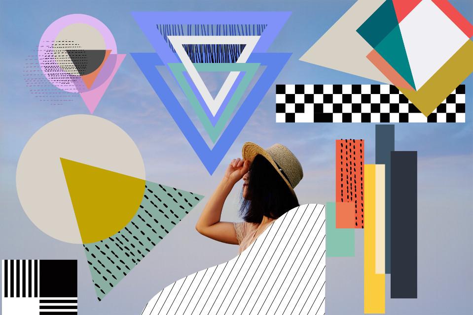 #freetoedit #geometric #shapes