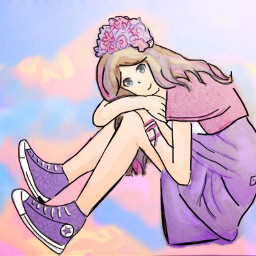 dcanimes animes anime girl animegirl freetoedit