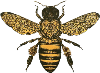 bee naturesbeauty vintagestyle freetoedit scbee