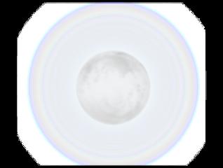 glowing whitemoon moon freetoedit