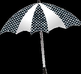 freetoedit sticker stickers umbrella regenschirm schwarzwei schwarz