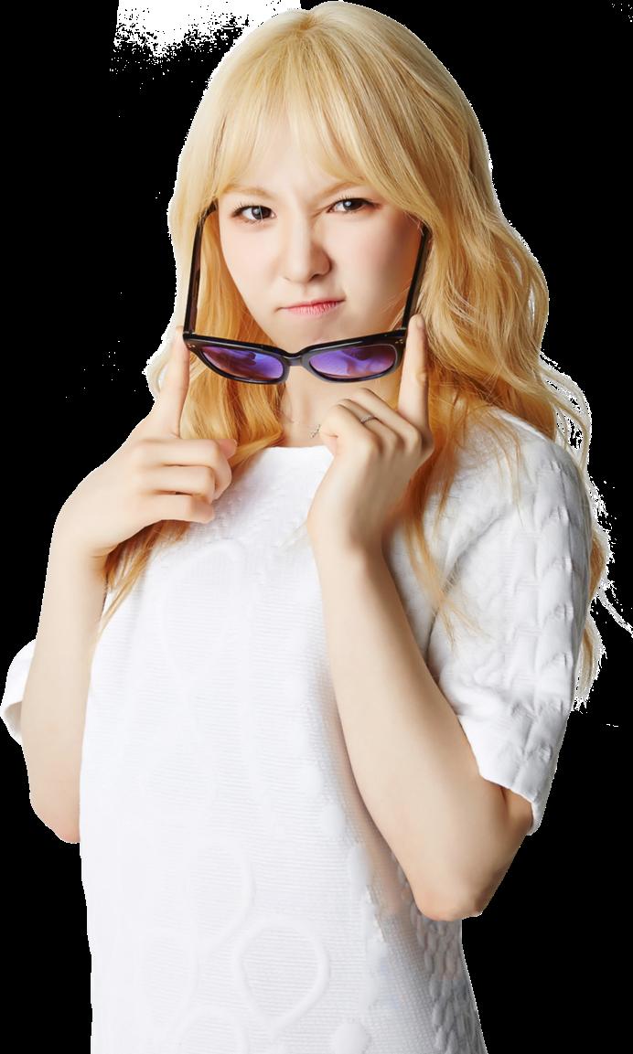 Wendy Blonde Cute Redvelvet Rv Kpop Sticker By Damia