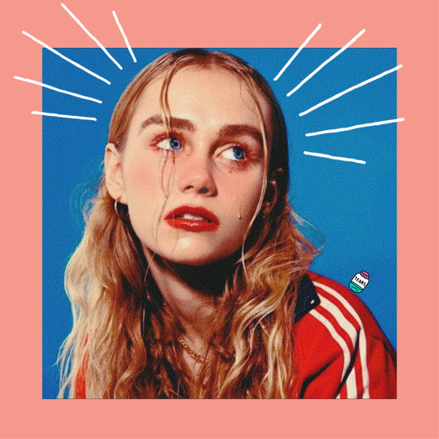 🦄     #freetoedit #girl #beautiful #pink #blue #tears #cute #red #blueandpink