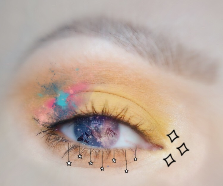 #freetoedit #art #pinterest #eye#summer #blur   So I took the eye pic from pinterest and you can find it if you just search eyes. It's from Talonted Lex article and I hope you like it. Have a good day!