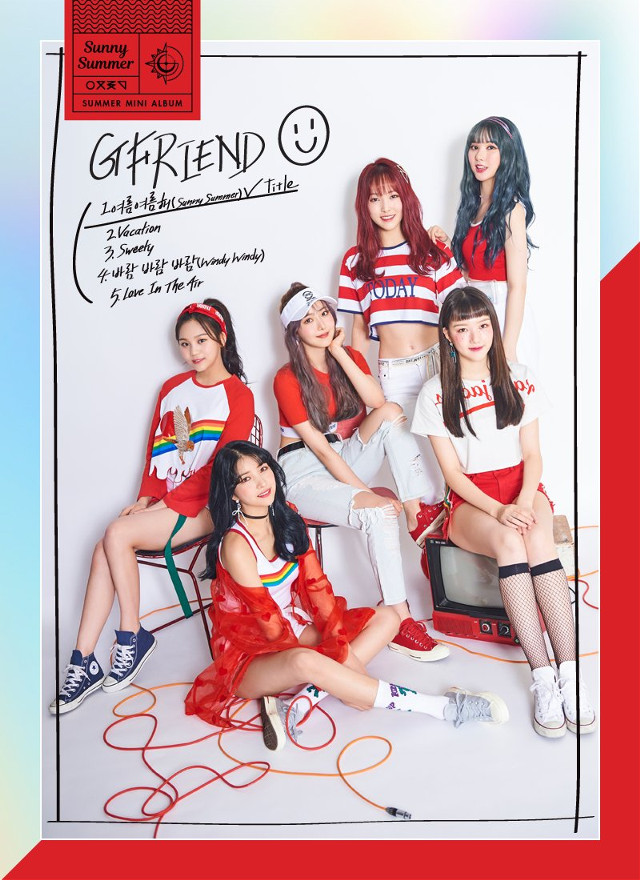 #여자친구 #GFRIEND #Summer_Mini_Album #Sunny_Summer  #여름여름해 2018. 07. 19. 6PM