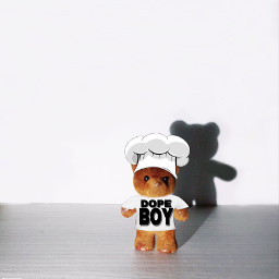 dopeboy chefhat tiny toy shadow freetoedit