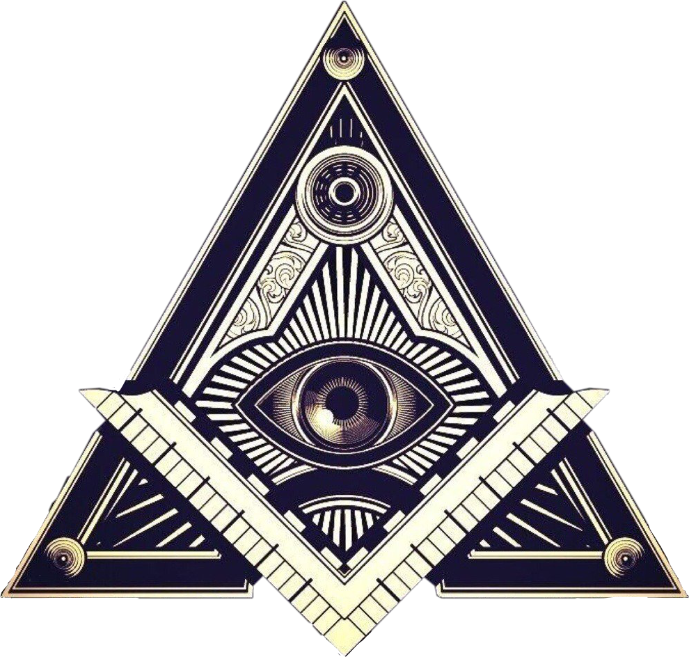 Allseeingeye Illuminati Triangle Freetoedit