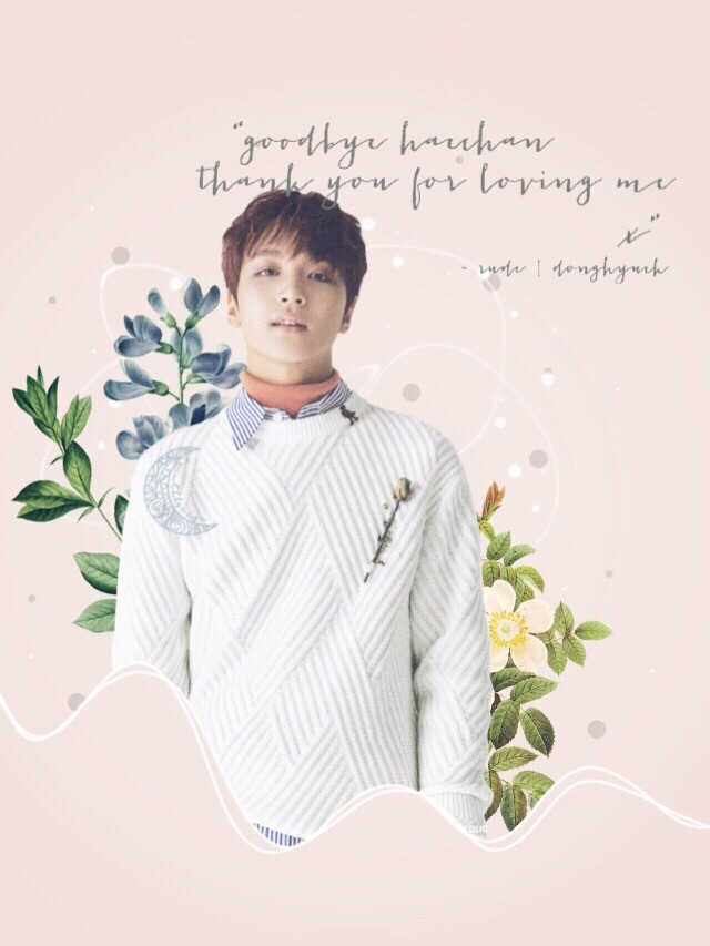 "🗓sun 15 july 🌸haechan [nct] 🎶stop and stare ~ one republic  ——  ""goodbye haechan           thank you for loving me                        x""                                ~ rude 