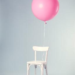 freetoedit chair balloon pink minimal