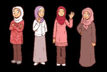 muslims muslimahs hijabis hijab islam