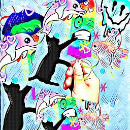 freetoedit ircrainbowpopsicle rainbowpopsicle