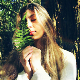 freetoedit nature selfie girl paz