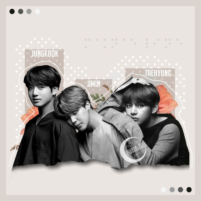 ─🍂♠️ R E Q U E S T S   A R E   C L O S E D  Maknae line for @ll_keisha_ll ♡ I hope you like it~!!💕🌸 Sorry that it took so long..  • C R E D I T S • [🤵🏻] JK, JM, V sticker: BEAPANDA (DeviantArt) [🌷] Flowers: Google Images [⚄] Dots: jins-hope [⌨] Text: Phonto  • T A G S • #jeonjungkook #parkjimin #kimtaehyung #bts  #maknaeline #maknaelinebts #btsedit #kpop  #kpopedit #interesting #aesthetic #pastel