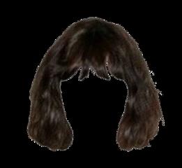 hair clothes dark freetoedit
