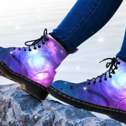 galaxyboots galaxy boots freetoedit