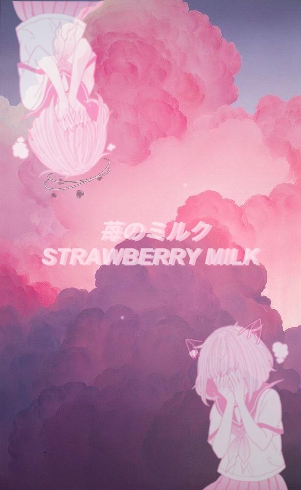 Aesthetic Anime Wallpaper Pink