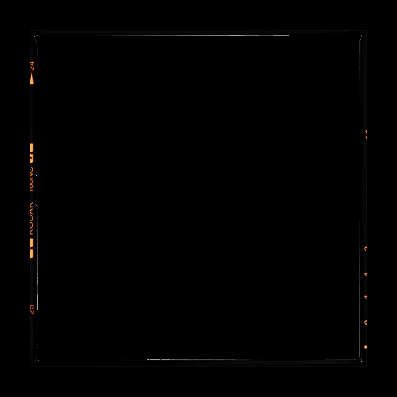 kodak frame film border vintage black
