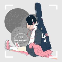 anime freetoedit girl animegirl