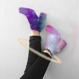 freetoedit galaxy galaxyboots boot boots