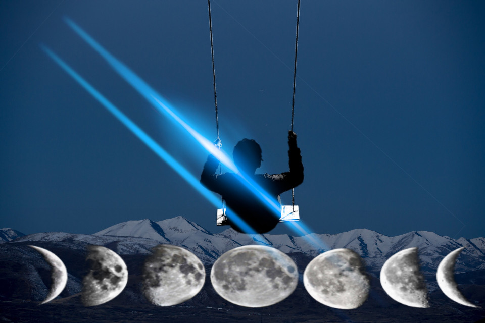 #freetoedit #moonlightmagiceffect #nature #moon #glare