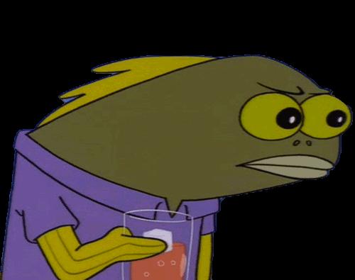 Spongebob Spongebobsquarepants Spongebobmeme Fish Glare