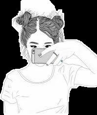 girl drawing art tumblr freetoedit
