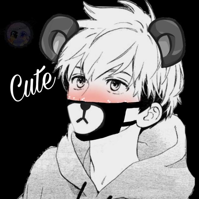 OH MY GOD THIS IS SO CUTE 😍😂 #bear #teddybear #mouthmask #animeboy #bearanime #anime #kawaii #adorable #small #tiny #blush #japan #animeedit #art #animeisaart #boybear #animelove #animeboys #animedrawing #animekawaii #freetoedit