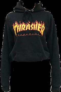 trasher hoodie zumiez sweater shirt