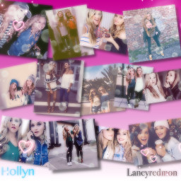 friendshipgoals laneyredmon hollyn freetoedit beautifulgirls
