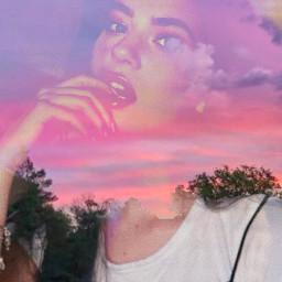 freetoedit rikkisgirl girl beautiful sunset ecdoubleexposures