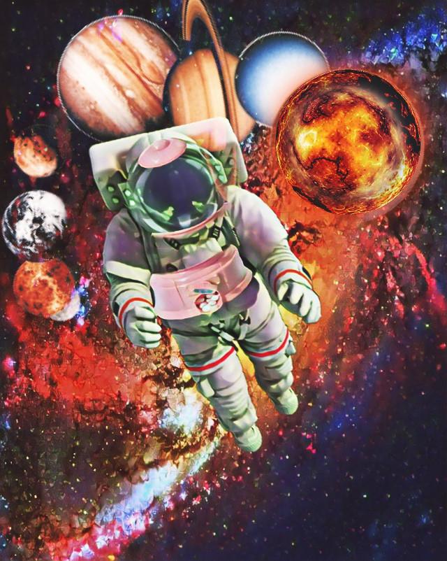 Thank you @pa ❤ #freetoedit #irccandymachine #candymachine #galaxy #space #astronaut