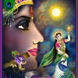krishna jaishreekrishna colorfull vishnu india freetoedit