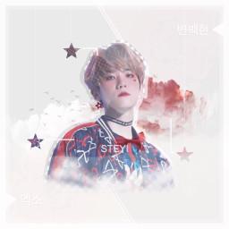 eckpopfanart kcon18la picsart byunbaekhyun baekhyun exo kpop edit