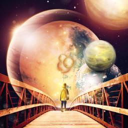 freetoedit fantasy surreal moon
