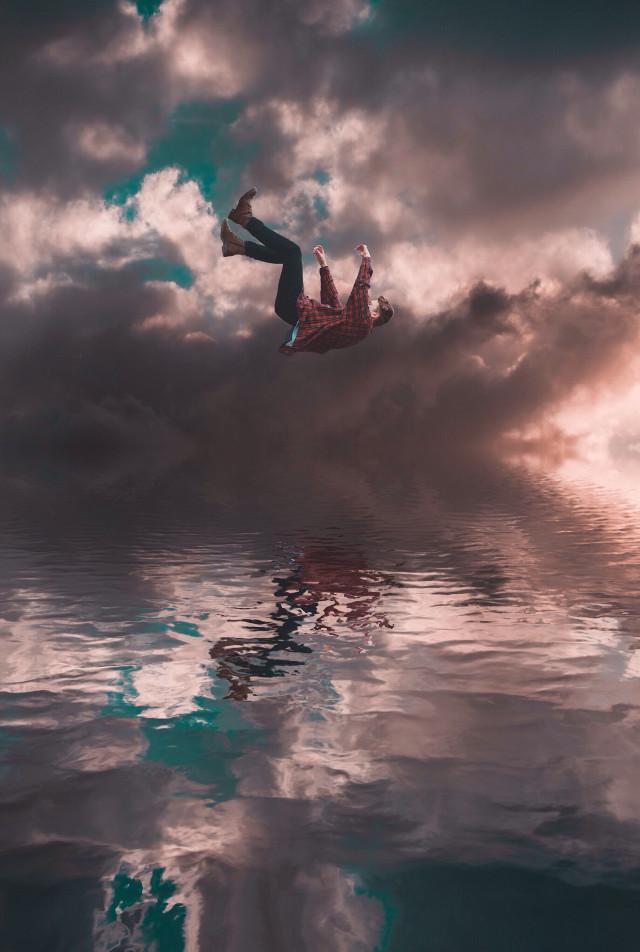 ||fall|| #surreal #cloudy #water #fall #dreamy