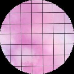 grid circle backgroud sticker pink freetoedit