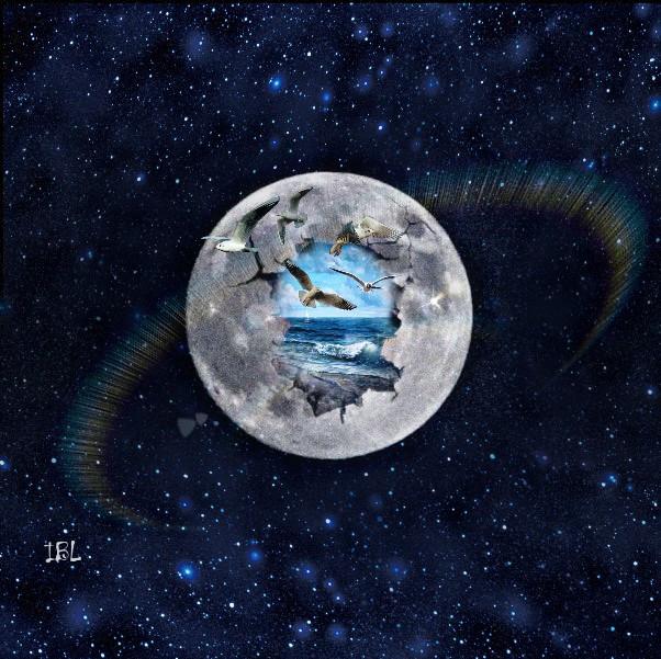#freetoedit #moon #galaxy #stars
