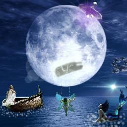 freetoedit moon magic beautiful dclifeonthemoon