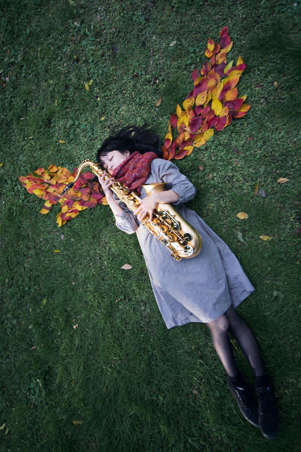 #freetoedit #portrait #angel #angelswing #wings #wing #angelswings #saxophone #sax