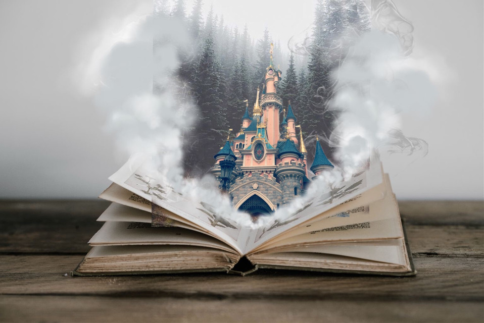 #disney #interesting #night #book#sky #smoke