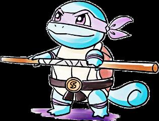 squirtle ninjaturtles pokemon pop art freetoedit