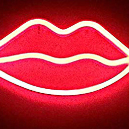 neonsigns freetoedit lips red