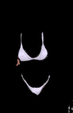 scswimsuit swimsuit sketch bikini illustration freetoedit