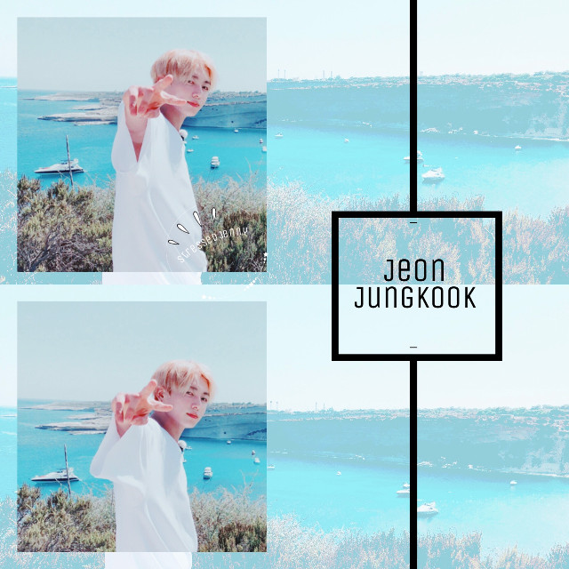 ❁ jeon jungkook • simple and boring, i know, im rushing too much { bts requests are always open } ✧credits✧   ◌ original photo from bts twt ↳ tags↴ #bts #jeonjungkook #bangtanboys #beyondthescene #jungkook