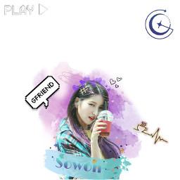 eckpopfanart kpopfanart gfriend sowon sunnysummer freetoedit