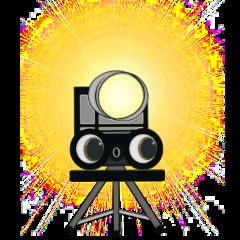 freetoedit abstract camera tripod graphicart