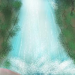 dcwaterfall waterfall drawingmena