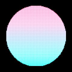 ftestickers circle dots pattern gradientcolors freetoedit