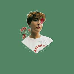 kpopedit kpop edit hoseok Jung junghoseok jhope btshoseok hoseokbts bts bangtansonyeondan bangtanboys green flowers iloveallofyou