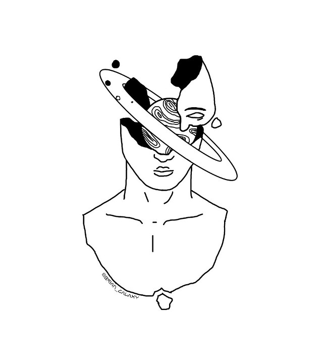 #freetoedit #planeta #saturno #fragil #roto #persona #dibujo #subreal #subrealista #dibujosubrealista @brian_galaxy
